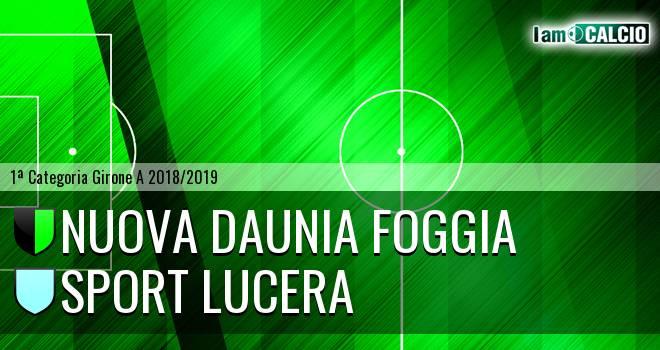 Nuova Daunia Foggia - Sport Lucera