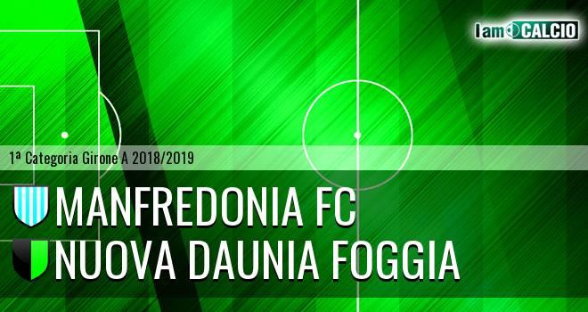 Manfredonia FC - Nuova Daunia Foggia