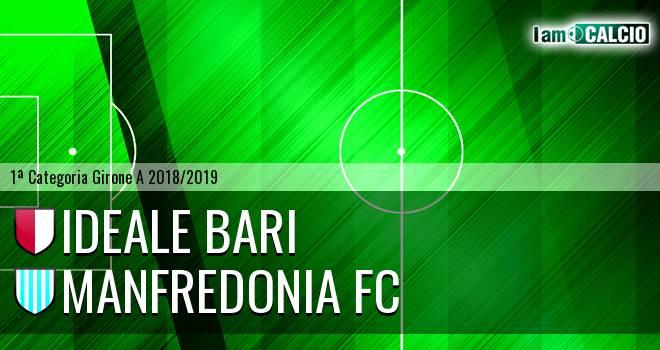 Ideale Bari - Manfredonia FC