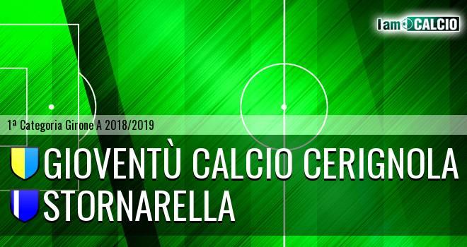 Gioventù Calcio Cerignola - Stornarella