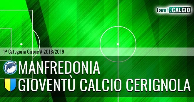 Manfredonia Calcio 1932 - Gioventù Calcio Cerignola