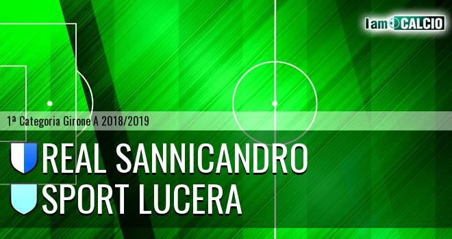 Real Sannicandro - Sport Lucera