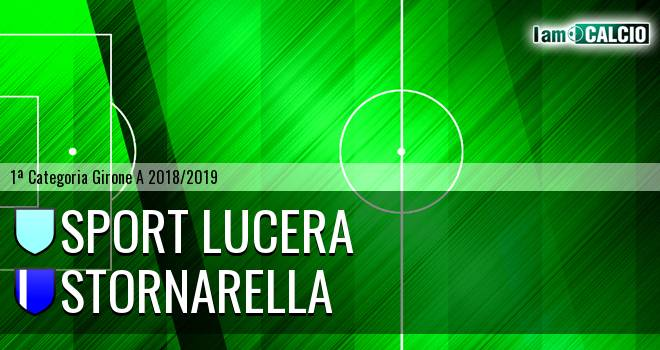 Sport Lucera - Stornarella