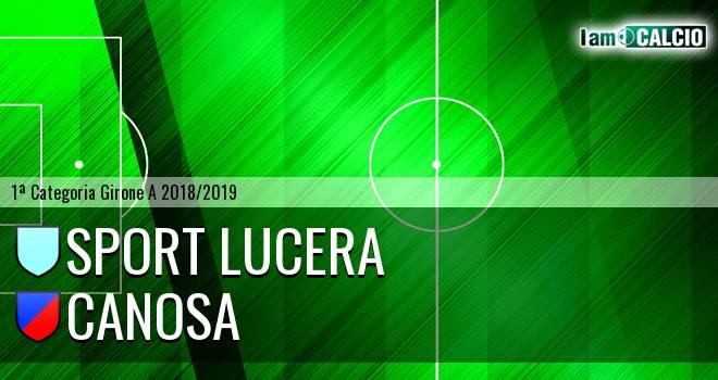 Sport Lucera - Canosa