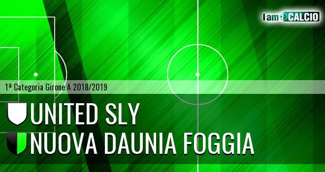 United Sly - Nuova Daunia Foggia