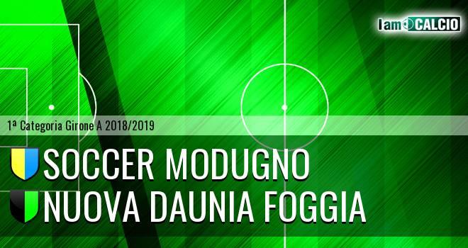 Soccer Modugno - Nuova Daunia Foggia