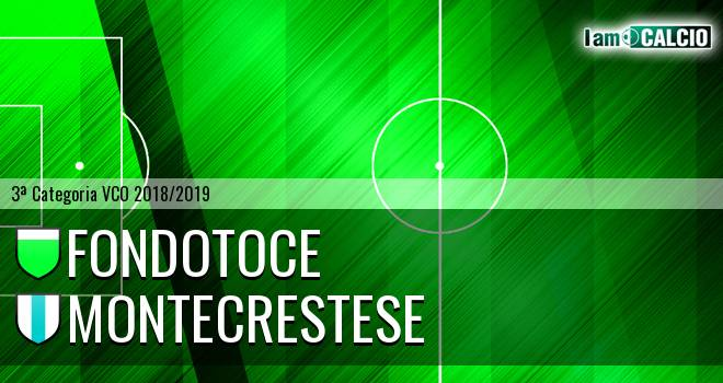 Fondotoce - Montecrestese