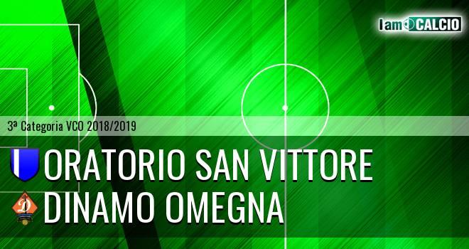 Oratorio San Vittore - Dinamo Omegna