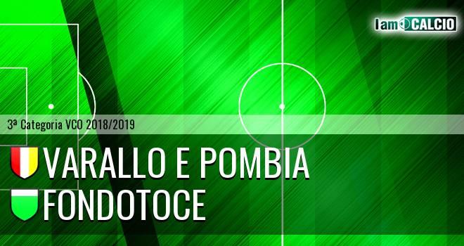 Varallo E Pombia - Fondotoce