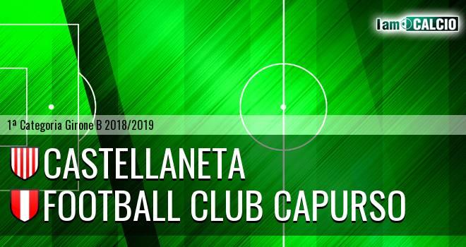Castellaneta - Football Club Capurso