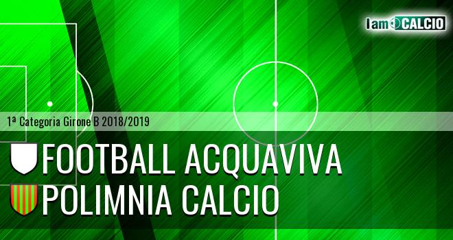 Football Acquaviva - Polimnia Calcio