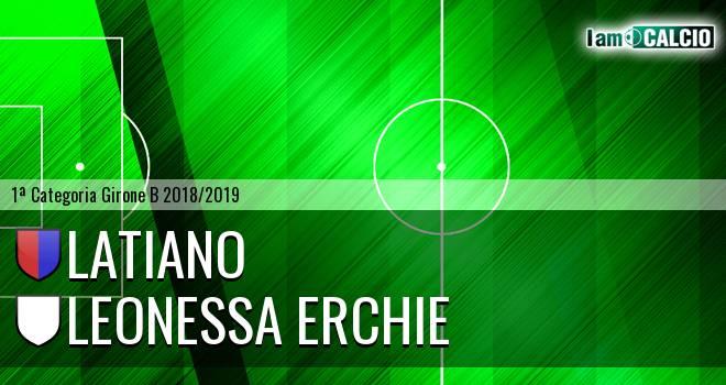 Latiano - Leonessa Erchie