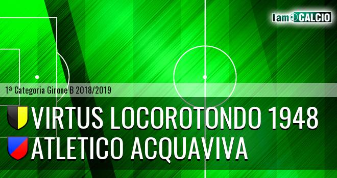 Virtus Locorotondo 1948 - Atletico Acquaviva