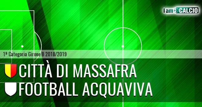 Città di Massafra - Football Acquaviva