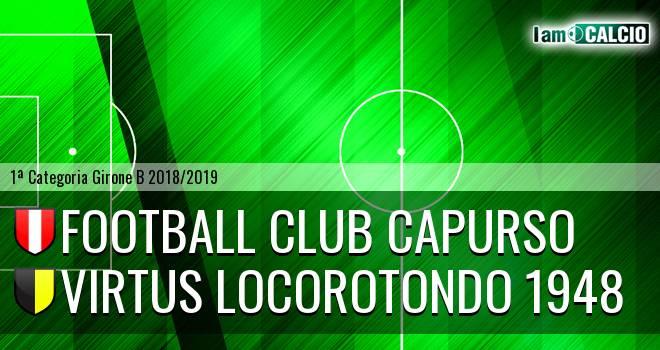 Football Club Capurso - Virtus Locorotondo 1948