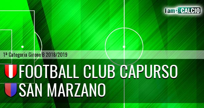 Football Club Capurso - San Marzano