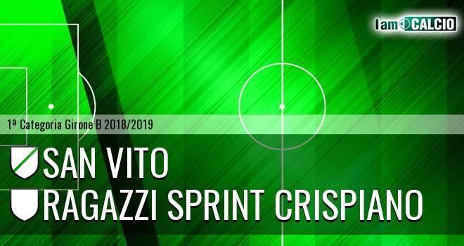 San Vito - Ragazzi Sprint Crispiano