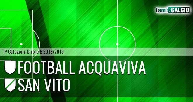 Football Acquaviva - San Vito