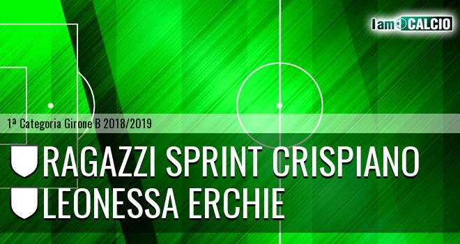 Ragazzi Sprint Crispiano - Leonessa Erchie