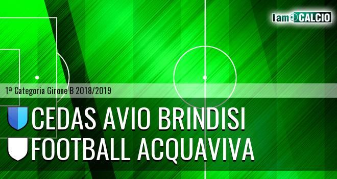 Cedas Avio Brindisi - Football Acquaviva