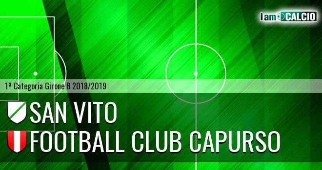 San Vito - Football Club Capurso