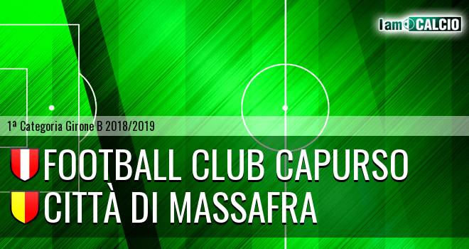 Football Club Capurso - Città di Massafra