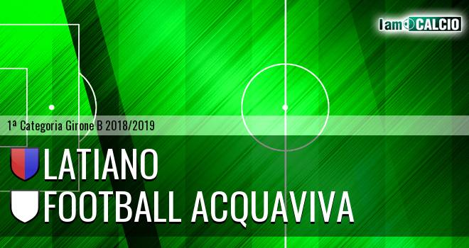 Latiano - Football Acquaviva