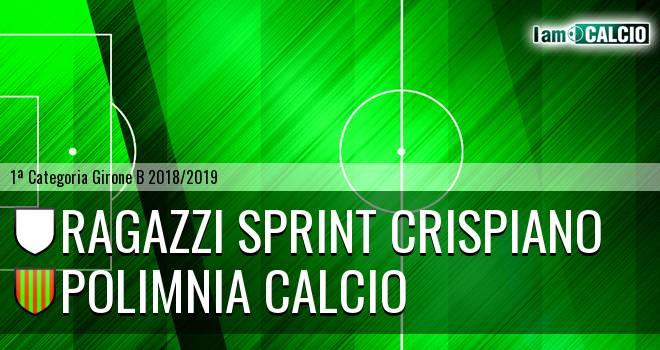 Ragazzi Sprint Crispiano - Polimnia Calcio
