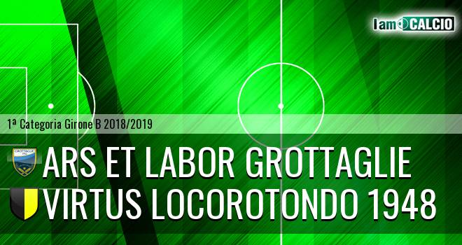 Ars et Labor Grottaglie - Virtus Locorotondo 1948