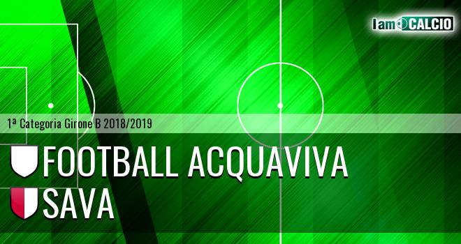 Football Acquaviva - Sava