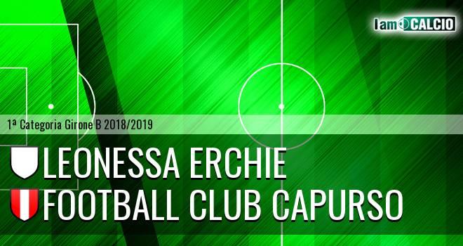 Leonessa Erchie - Football Club Capurso