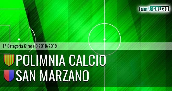 Polimnia Calcio - San Marzano