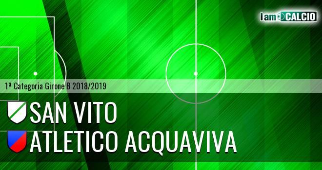 San Vito - Atletico Acquaviva