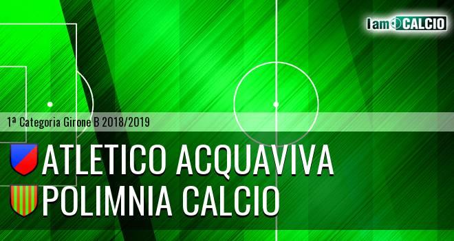 Atletico Acquaviva - Polimnia Calcio
