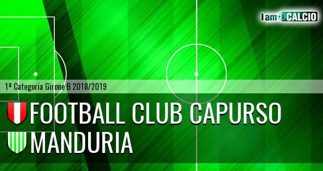 Football Club Capurso - Manduria