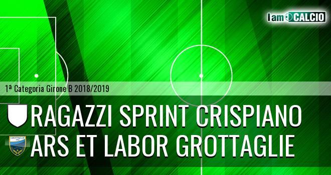 Ragazzi Sprint Crispiano - Ars et Labor Grottaglie