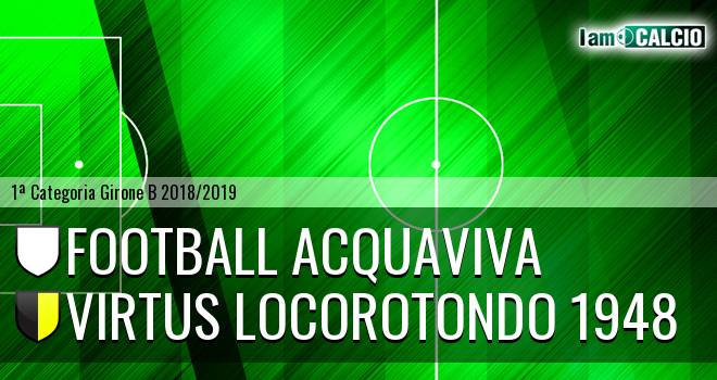 Football Acquaviva - Virtus Locorotondo 1948