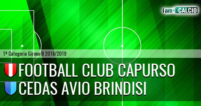 Football Club Capurso - Cedas Avio Brindisi