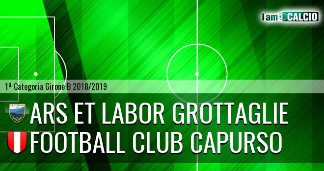 Ars et Labor Grottaglie - Football Club Capurso