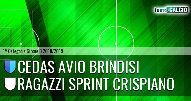 Cedas Avio Brindisi - Ragazzi Sprint Crispiano