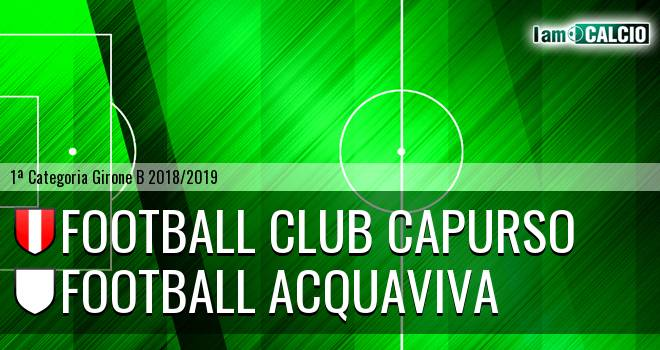 Football Club Capurso - Football Acquaviva