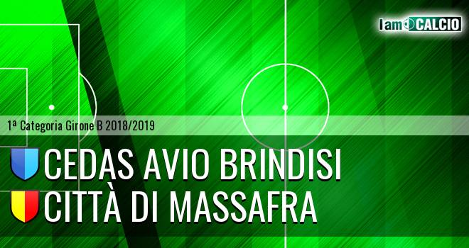 Cedas Avio Brindisi - Città di Massafra