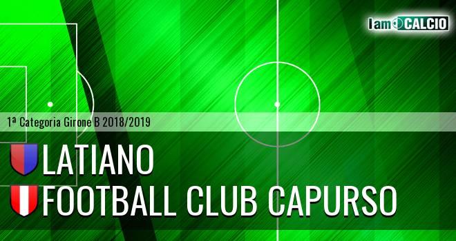 Latiano - Football Club Capurso