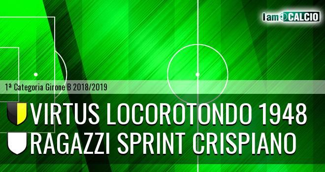 Virtus Locorotondo 1948 - Ragazzi Sprint Crispiano