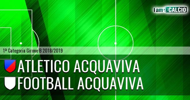 Atletico Acquaviva - Football Acquaviva