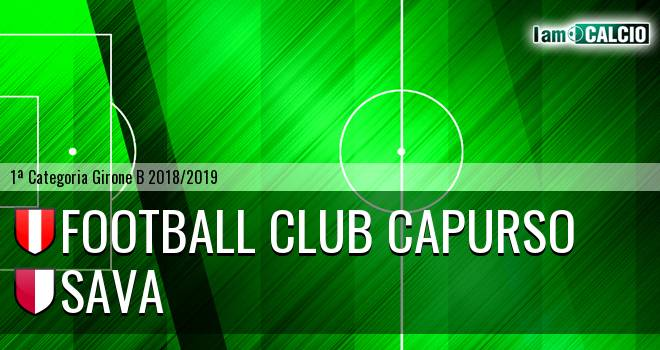 Football Club Capurso - Sava