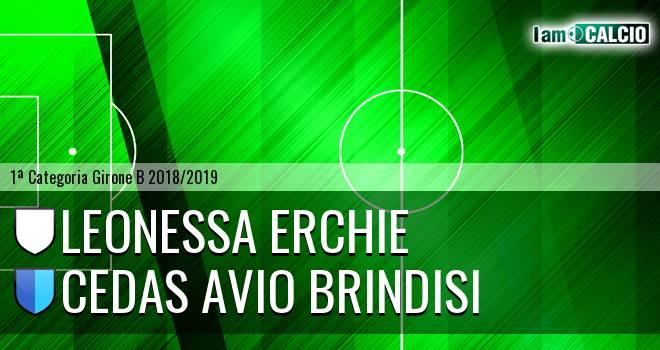 Leonessa Erchie - Cedas Avio Brindisi