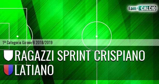 Ragazzi Sprint Crispiano - Latiano