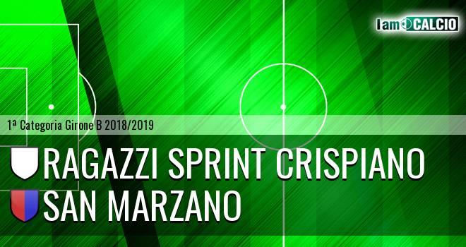 Ragazzi Sprint Crispiano - San Marzano