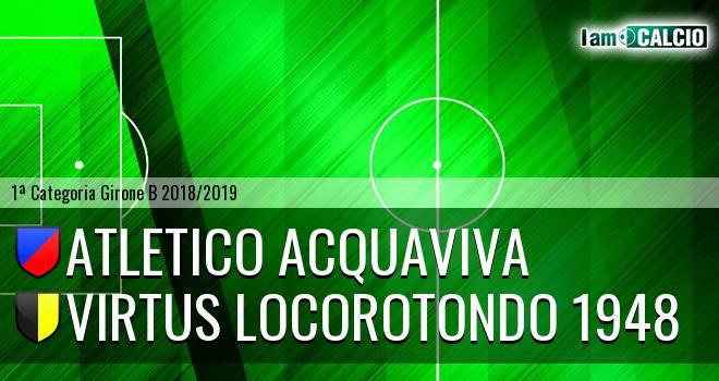 Atletico Acquaviva - Virtus Locorotondo 1948